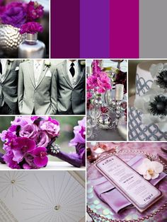 More purple ideas... Love Purple and can be used with many other colors....