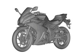 Finally the patent pictures of speculated quarter-liter sportbike, Suzuki GSX-250 has emerged online via MCN, likely to unveil by this year end.