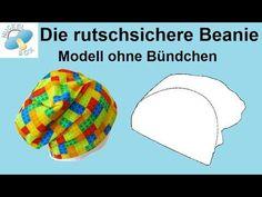 Nuckelbox: Tutorial - Die rutschsichere Beanie-Mütze - Freebook & Schnittmuster