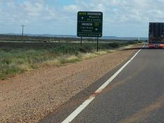 Port Augusta to Whyalla, South Australia..........travelled along this road lots of times - don't EVER remember it this green !!!!