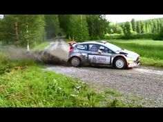 Robert Kubica Rally WRC Finland 2015 TEST - YouTube