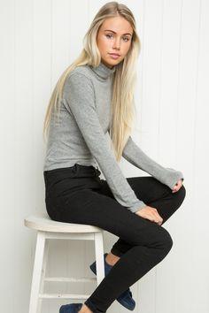 Brandy ♥ Melville | Kendra Turtleneck Top - Tops - Clothing
