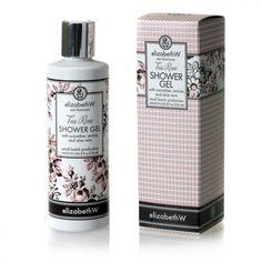 Tea Rose Shower Gel Tea Roses, Shower Gel, Aloe, Bubbles, Soap, Cream, Beauty, Creme Caramel, Body Wash