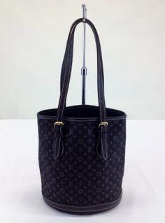 Louis Vuitton 'Mini Lin Petit Bucket' Shoulder Bag