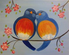 Paint Nite - Tweethearts