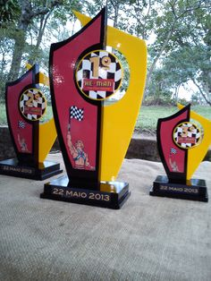 Troféus personalizados