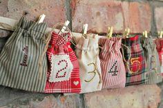 Christmas Advent Calendar – Rustic Cottage Style