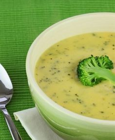 Want to make this delicious creamy broccoli & Cheddar cheese soup? Visit our site for the recipe.