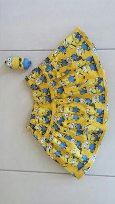 Tadah reversible Rara skirt Minions & Dory