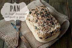 Pan de Trigo Sarraceno Remojado y Harina de Yuca
