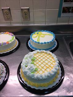 🌻 Saved by Buttercream Cake Designs, Cupcake Cake Designs, Cake Decorating Designs, Creative Cake Decorating, Birthday Cake Decorating, Cake Icing, Creative Cakes, Cupcake Cakes, Cupcakes