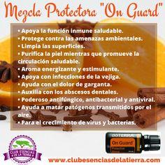Mezcla Protectora de Aceites Esenciales On Guard My Doterra, Doterra Essential Oils, Doterra Onguard, Dental, Natural Remedies, Health, Tips, Business, Aromatherapy