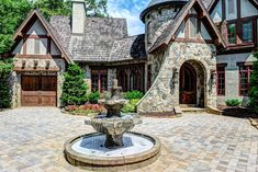 Tudor House, Outdoor Living, Outdoor Decor, Wildlife, House Plans, Charlotte Nc, Home And Family, Exterior, House Design