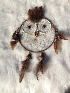 Hooty the Dream Catcher by IBHippie on Etsy