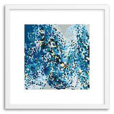 Minted for west elm - Dance In Blue #westelm