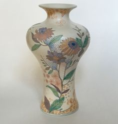 P-decor vase executed by Plateelbakkerij Zuid-Holland Gouda circa 1910. Dutch Art Nouveau.