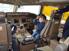 As crianças e o programa Comandante Kid da TAM em http://www.diariodeviagem.com
