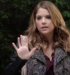 "Hanna's Ecote Tapestry Mix Moto Jacket Pretty Little Liars Season 4, Episode 23: ""Unbridled"""