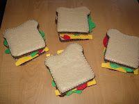 Free Felt Sandwich Pattern | Confessions of a Homeschooler