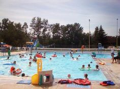 The Bear Creek Outdoor Pool is Grande Prairie's only outdoor pool facility. Opened in 1962, the Bear Creek Outdoor Pool remains one of Grande Prairie's favourite summer outdoor destinations.  With a shallow end that's 3 feet deep as well as an area for lane swimming, the pool is perfect for the whole family!