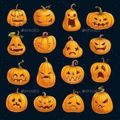 Sac Halloween, Halloween Rocks, Dollar Store Halloween, Halloween Cartoons, Halloween Drawings, Diy Halloween Decorations, Halloween 2020, Holidays Halloween, Halloween Pumpkins