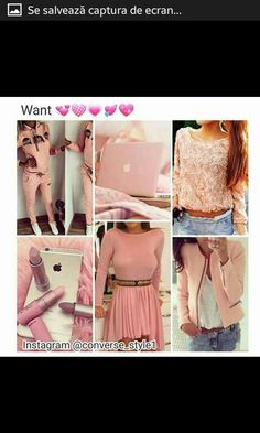 Basic White Girl, White Girls, Color Collage, Girly Things, Beauty Hacks, Style Inspiration, Fashion Outfits, Pretty, Cute