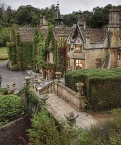 Beautiful Buildings, Beautiful Homes, Beautiful Places, Castle Combe, English Countryside, House Goals, Architecture, My Dream Home, Future House
