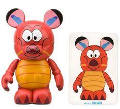 "Mushu by Lin Shih - Disney Vinylmation ~3"" Animation Series #1 Designer Figure (Disney Theme Parks Exclusive) by Disney Theme Park Merchandise, http://www.amazon.com/dp/B004OUL7XQ/ref=cm_sw_r_pi_dp_NdlMqb0DCEENR"