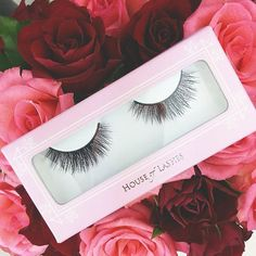 Loving shot of our rose adorned #BoudoirLashes by @ehbblog    You can shop these lashes directly by clicking the link in our bio   Got my new Boudoir lashes from @houseoflashes ♡   #houseoflashes #lashgamestrong #lashfocus