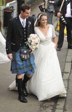 Pin for Later: Die 27 unvergesslichsten Promi-Hochzeiten von 2015 Andy Murray und Kim Sears