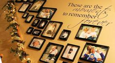 These Are The Moments Wall Decals quotes