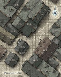 D&D Town Battle Map - Google Search: