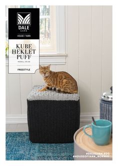 dg_335_08_puff | crocheted poof | crocheted interior | crochet pattern