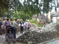 https://flic.kr/p/oXPKHa | Heritage Open Days 2014 | HEART CEO Michael Loveday leads a tour of Carrow Abbey
