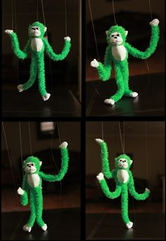 Ramblings From Utopia: DIY: Marionette Puppet {from a Stuffed Animal}