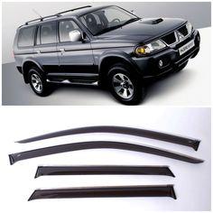 Nice Great Chrome Trim Window Visors Guard Vent Deflectors For Mitsubishi Pajero Sport 98- 2017/2018 Check more at http://24cars.gq/my-desires/great-chrome-trim-window-visors-guard-vent-deflectors-for-mitsubishi-pajero-sport-98-20172018/