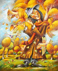 Мелодия падающих листьев