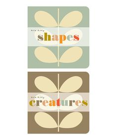 I love Orla Keily designs! Shapes and Creatures childrens books (on offer at Zulily!) #spon