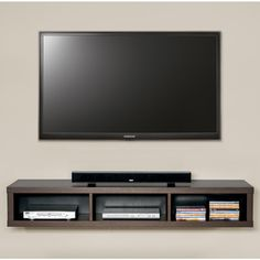 Thin Wall Mount TV Console by Martin Anyone can create a home sweet property, even when the budget is tight. There are many concepts. Diy Tv Wall Mount, Best Tv Wall Mount, Mount Tv, Diy Wall, Living Room Tv, Living Room Furniture, Wall Mounted Tv Console, Plasma Tv Stands, Swivel Tv Stand