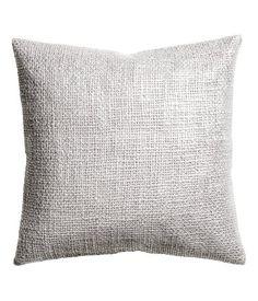 Cute metallic pillow for the blue pennie chair