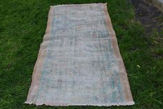 Free Shipping Runner Rug 3.3 x 5.8 feet Vintage Rug Home Decor