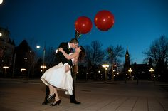 wedding pic... also need to remember balloons for easy cheap decor
