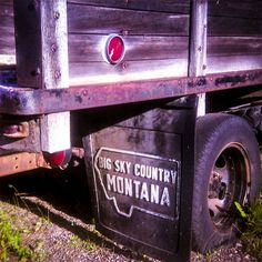 This Vintage Truck Photography was taken in the small town of West Yellowstone one day during our 5 weeks in the area.