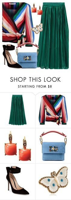 """#2972"" by megan-vanwinkle ❤ liked on Polyvore featuring WithChic, Alice + Olivia, Avon, Dolce&Gabbana, Gianvito Rossi, Gucci, polyvoreeditorial and powerlook"
