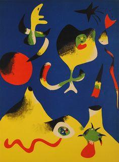 """Jean Miro """"L'Air"""" 1937"""