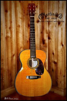 Martin Guitar - Eric Clapton Limited Edition Musical Design Project Info: MaritimeVintage.com