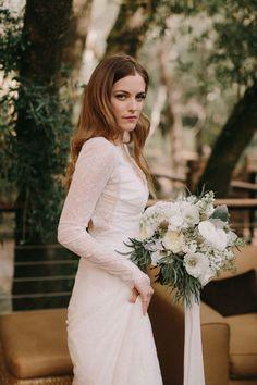 Riley Keough wedding dress