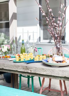 Vintage + new outdoor party tips and decor #targetstyle