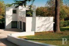Aux confins du Vexin, La villa Poiret, ISMH, dans un parc de 3,5 ha. - belles demeures - ile-de-france - Patrice Besse Châteaux et Demeures ...