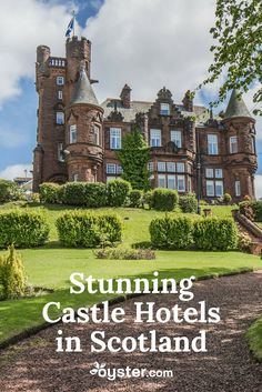 The Most Stunning Castle Hotels in Scotland When you were young, you may have fantasized about being a king or queen and living in a fairytale castle. As you grow up, however, those dreams most likely fade in the face reality. Now it's time to revive that Scotland Hotels, Scotland Castles, Scottish Castles, Scotland Travel, Ireland Travel, Scotland Trip, Inverness Scotland, Ireland Vacation, Oh The Places You'll Go